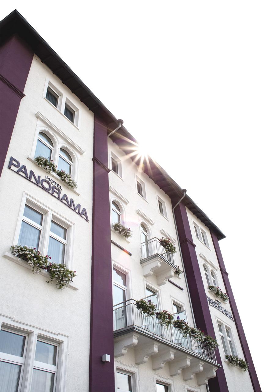 Hotel Panorama Heidelberg Fassade 2