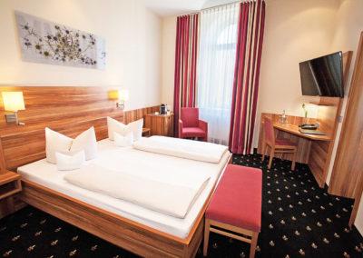 Hotel Panorama Heidelberg Doppelzimmer Komfort