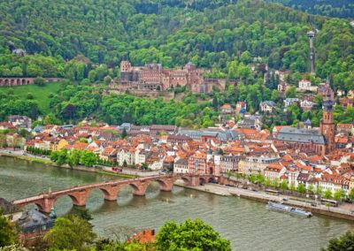 Hotel Panorama Heidelberg Altstadt Neckar
