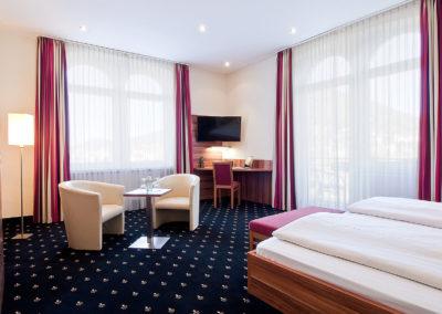 Hotel Panorama Heidelberg Deluxe Doppelzimmer