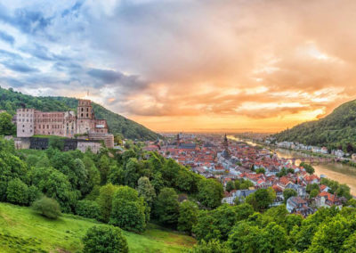 Hotel Panorama Heidelberg Heidelberger Schloss
