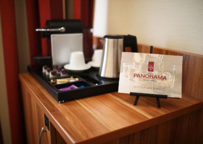 Hotel Panorama Heidelberg Zimmer Kaffemaschine